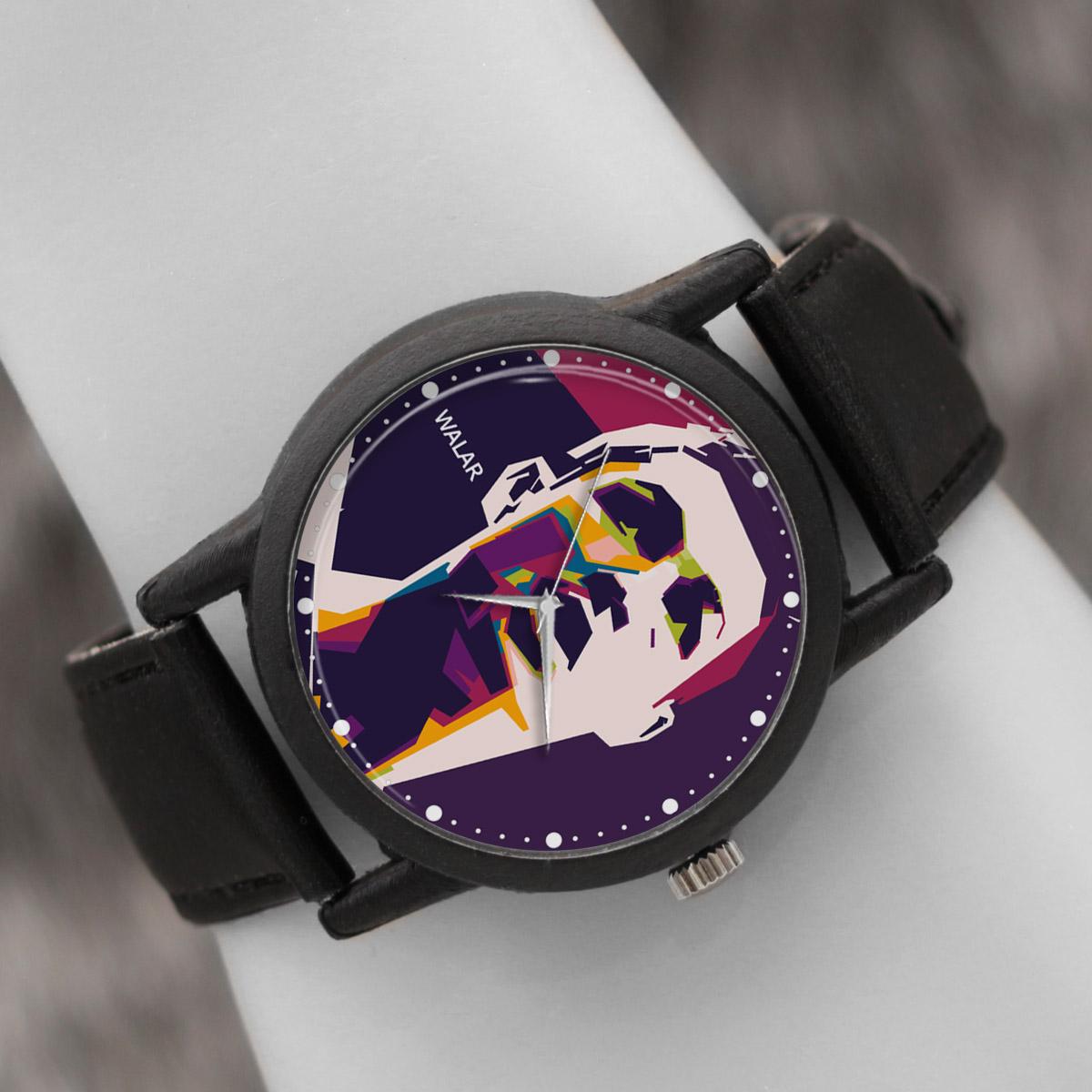 کد تخفیف                                      ساعت مچی عقربه ای والار طرح کریستیانو رونالدو کد LF2187