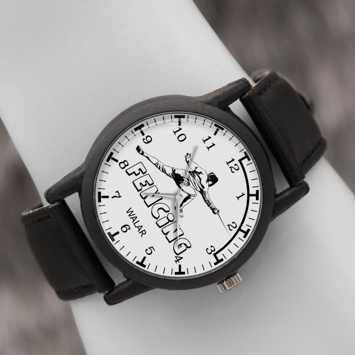 کد تخفیف                                      ساعت مچی عقربه ای والار طرح شمشیر بازی کد LF2213