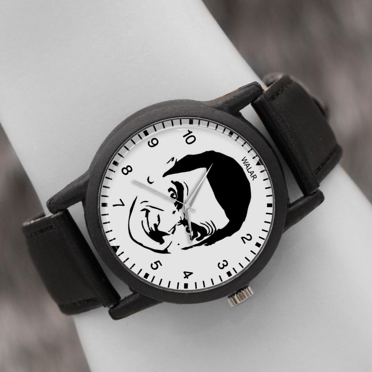 کد تخفیف                                      ساعت مچی عقربه ای والار طرح مستر بین کد LF2242