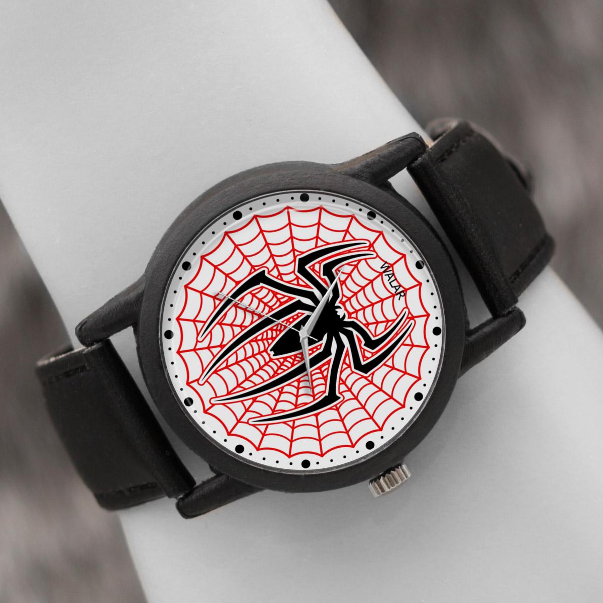 کد تخفیف                                      ساعت مچی عقربه ای والار طرح اسپایدرمن کد LF2267