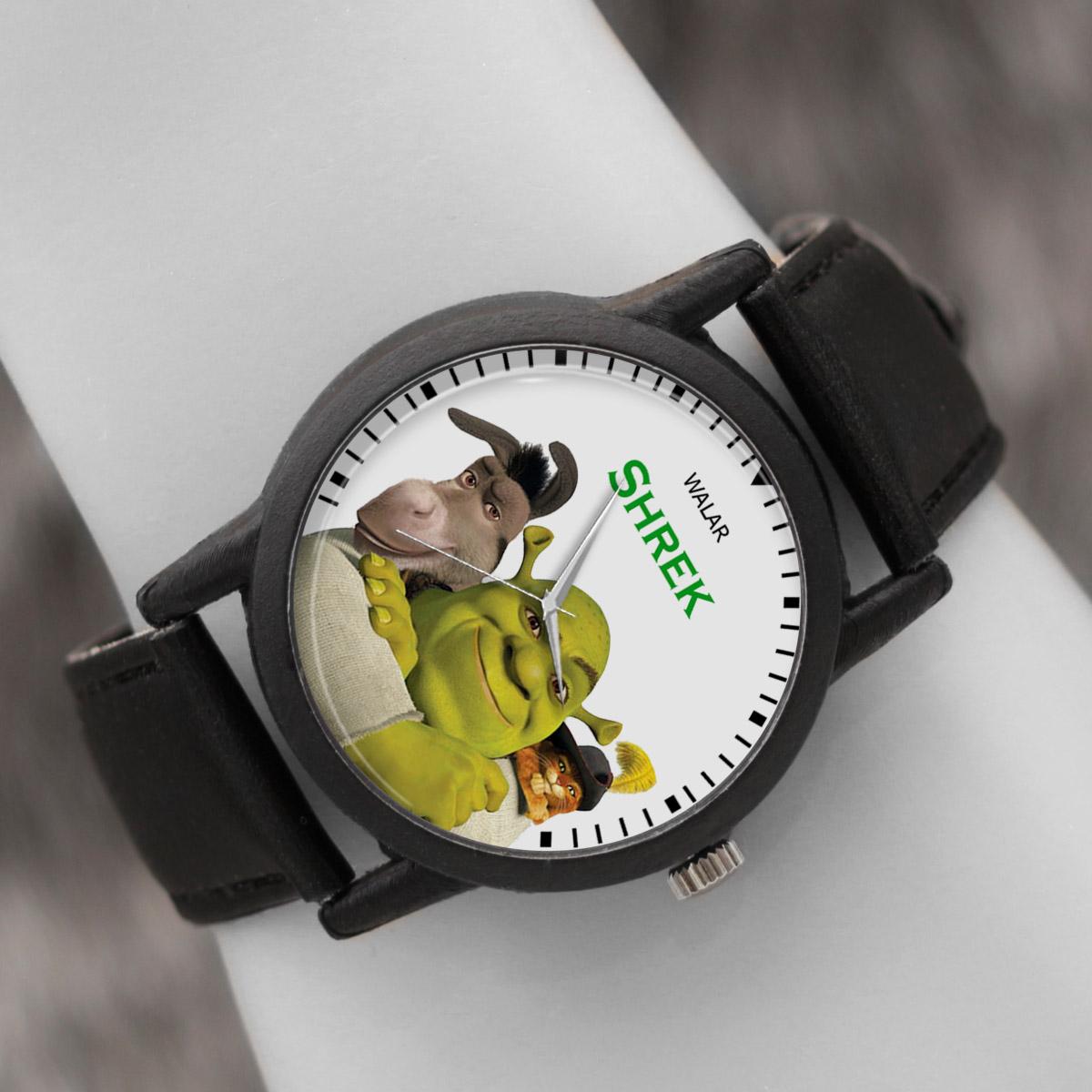کد تخفیف                                      ساعت مچی عقربه ای والار طرح شرک کد LF2269