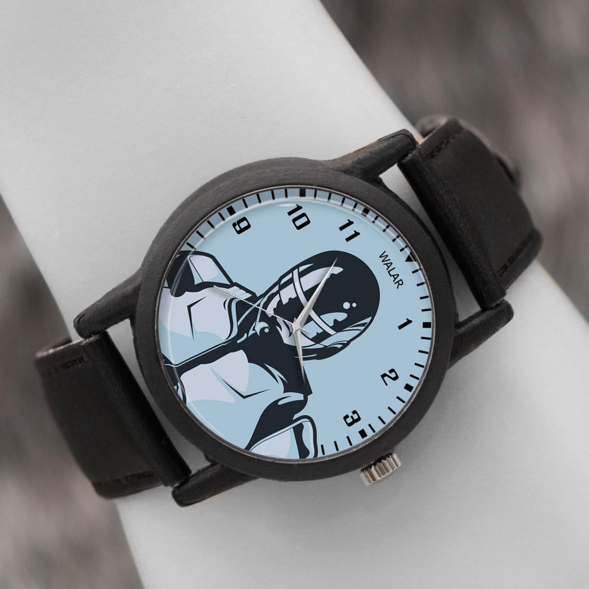 قیمت                      ساعت مچی عقربه ای والار طرح روبوکاپ کد LF2275