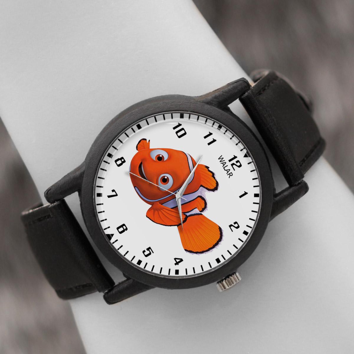 کد تخفیف                                      ساعت مچی عقربه ای والار طرح نمو کد LF2282