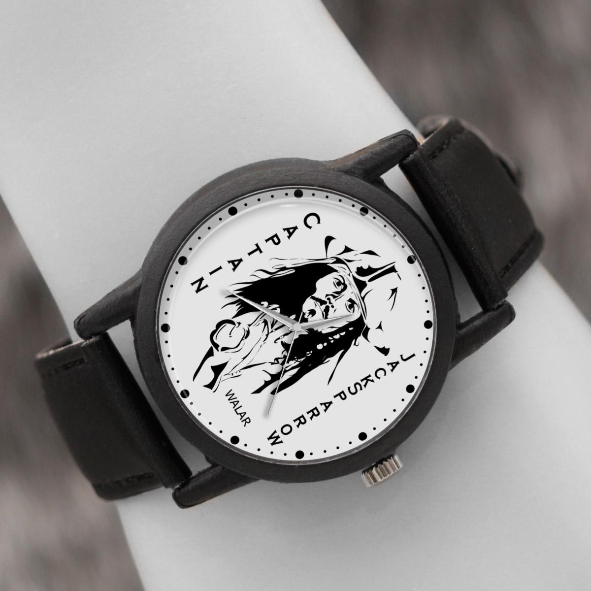 کد تخفیف                                      ساعت مچی عقربه ای والار طرح کاپیتان جک اسپارو کد LF2321