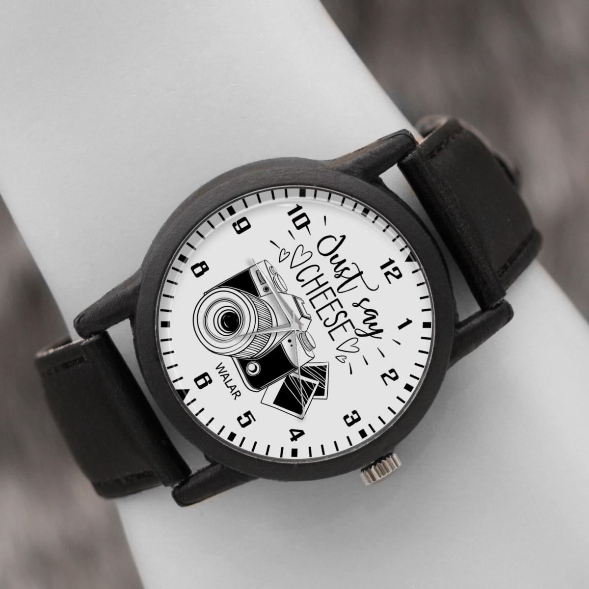 کد تخفیف                                      ساعت مچی عقربه ای والار طرح عکاسی کد LF2380