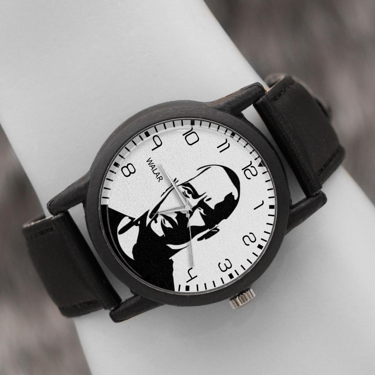 کد تخفیف                                      ساعت مچی عقربه ای والار طرح راک کد LF2414