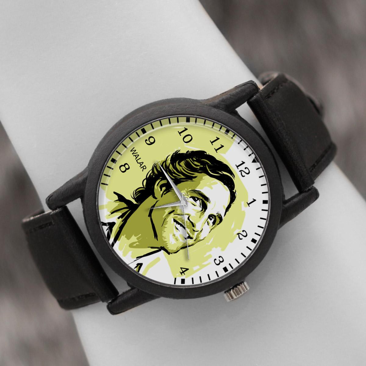 کد تخفیف                                      ساعت مچی عقربه ای والار طرح متیو مککانهی کد LF2424