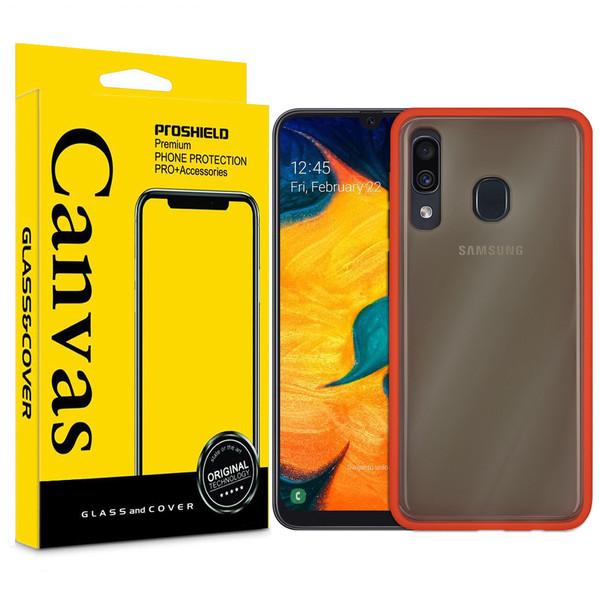 کاور کانواس مدل BMH-01 مناسب برای گوشی موبایل سامسونگ Galaxy A20/A30