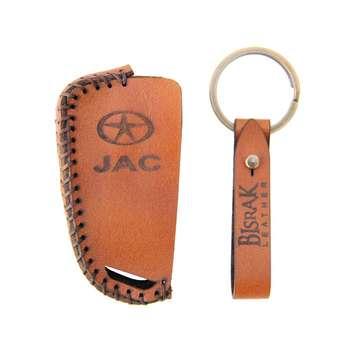 جاسوئیچی خودرو چرم بیسراک کد AK302 مناسب برای جک S3