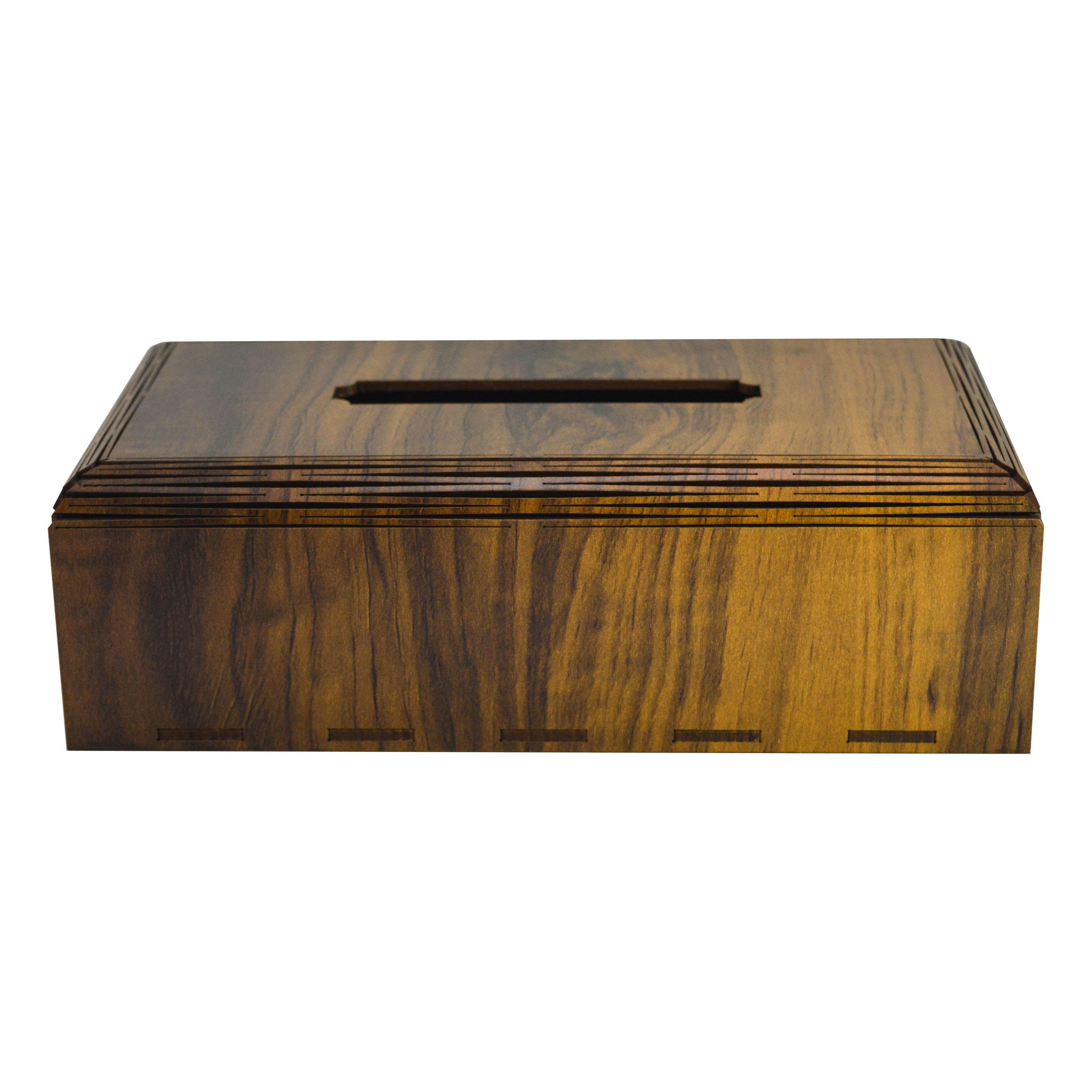 جعبه دستمال کاغذی مدل B122