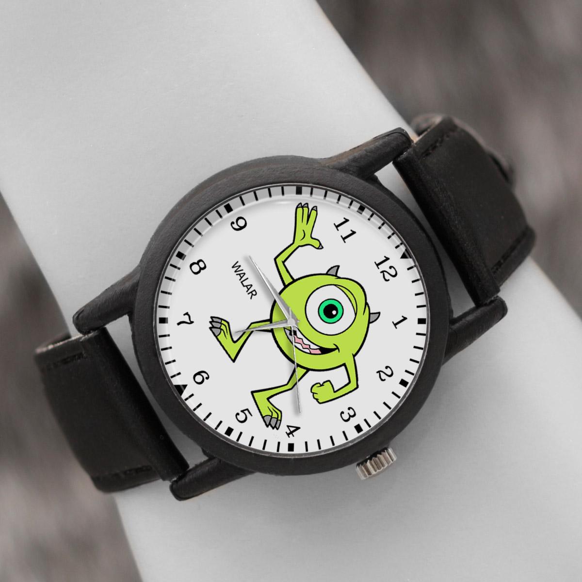 کد تخفیف                                      ساعت مچی عقربه ای والار طرح کارخانه هیولاها کد LF2458