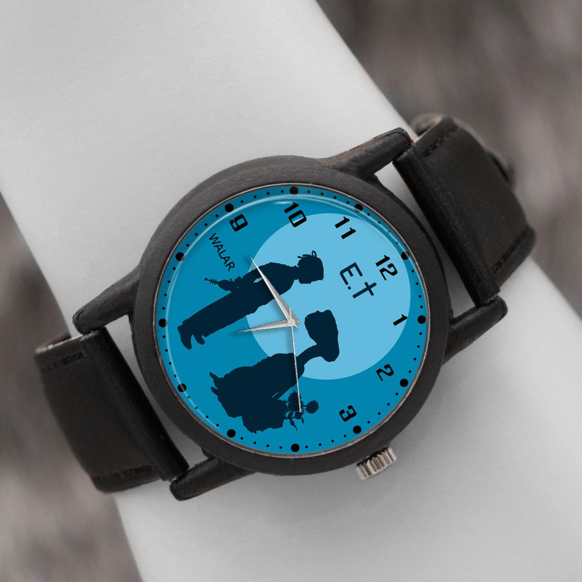 کد تخفیف                                      ساعت مچی عقربه ای والار طرح ای تی کد LF2460