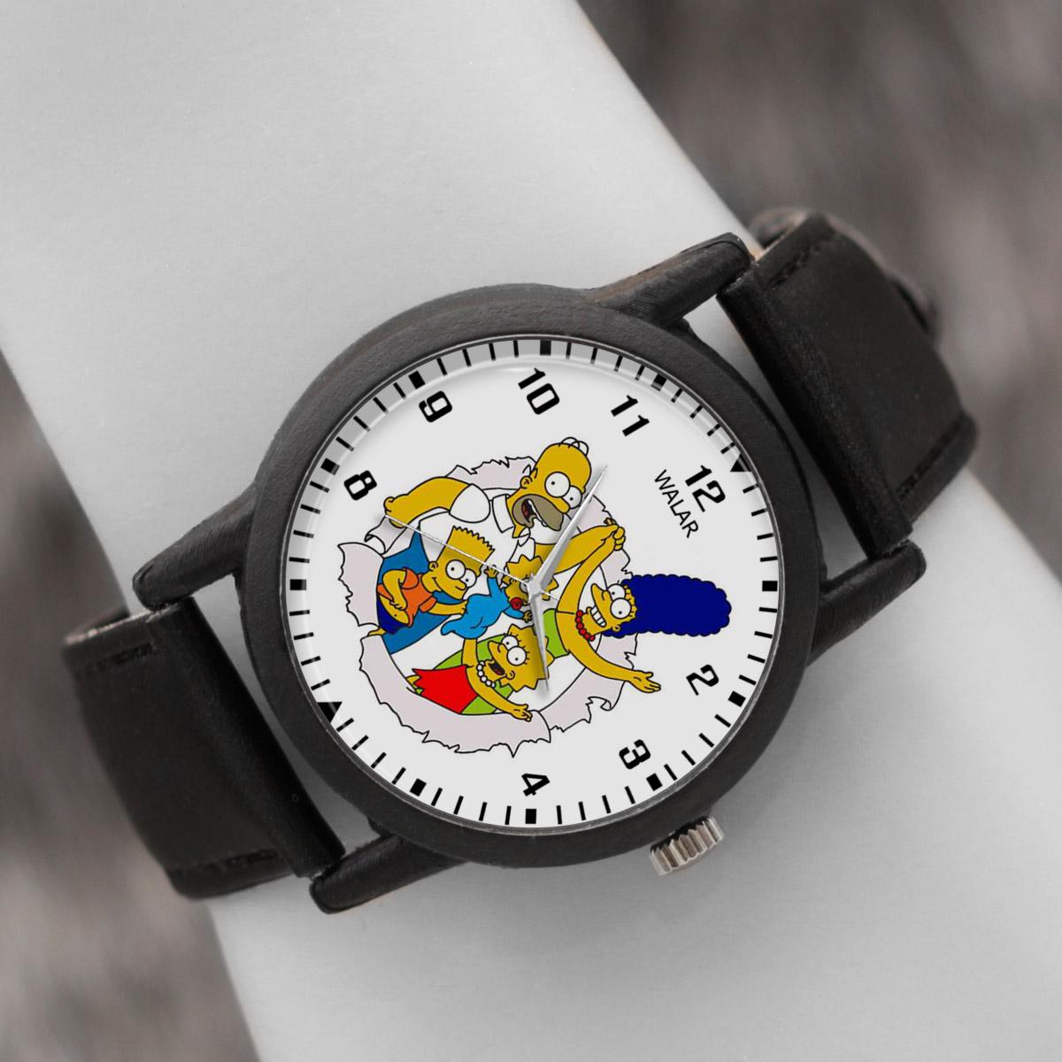 ساعت مچی عقربه ای والار طرح سیمپسونها کد LF2486              ارزان