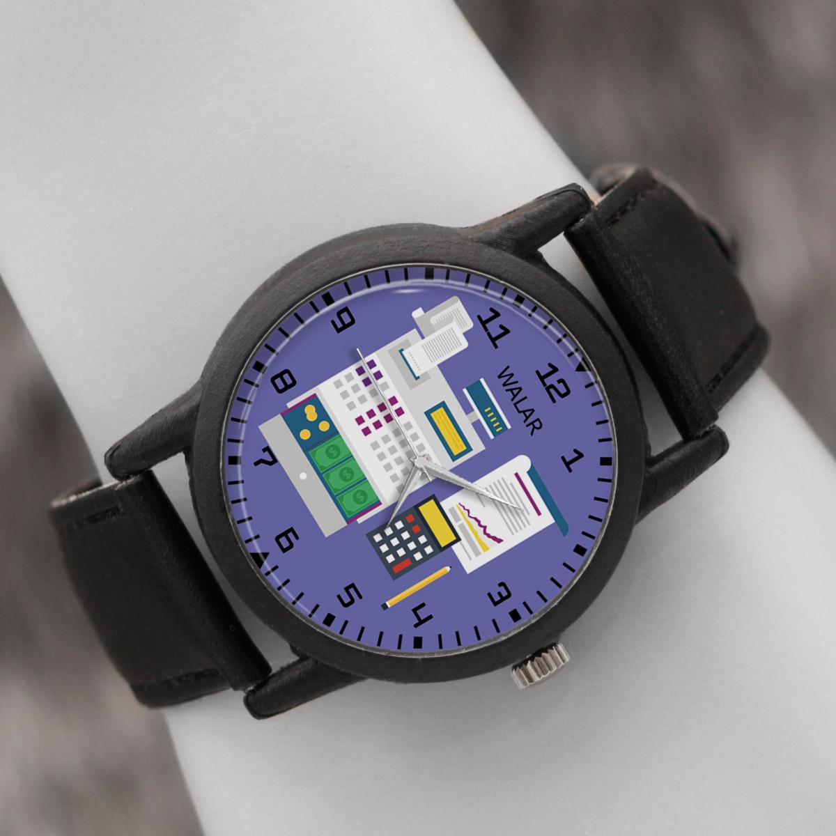 کد تخفیف                                      ساعت مچی عقربه ای والار طرح حسابداری کد LF2541