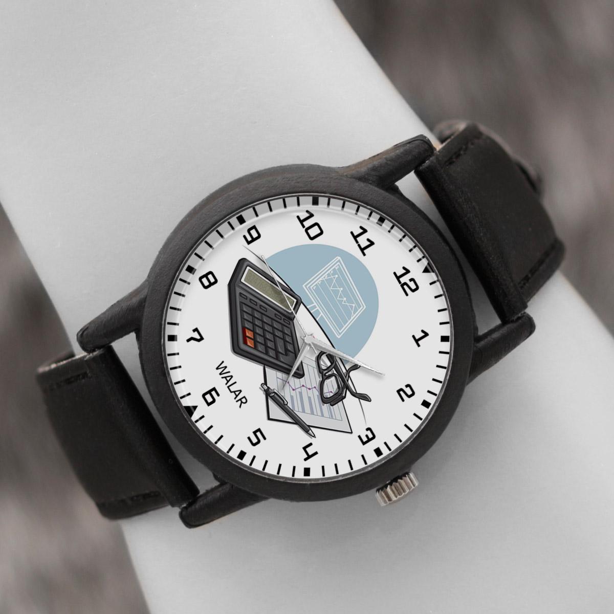 کد تخفیف                                      ساعت مچی عقربه ای والار طرح حسابداری کد LF2542