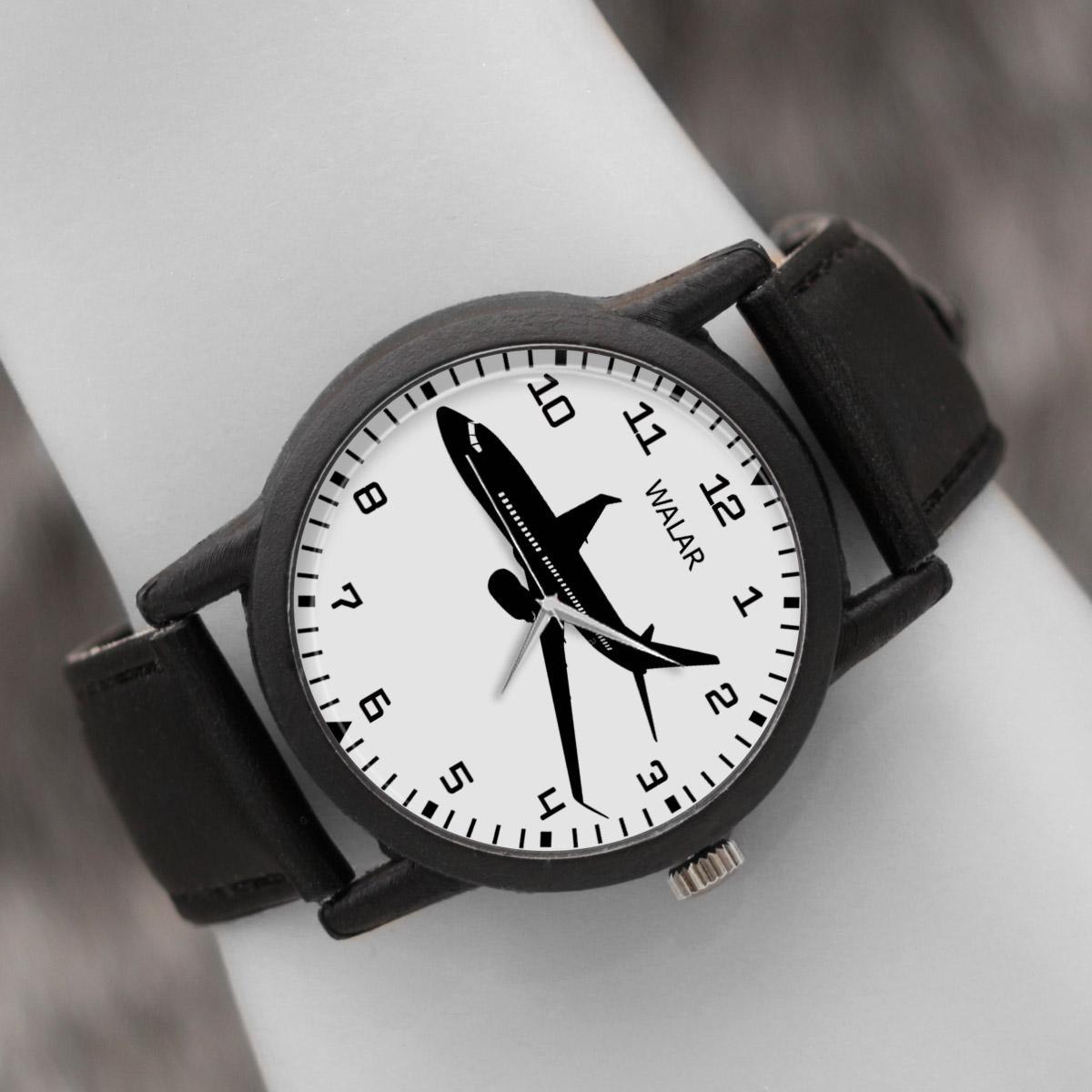 کد تخفیف                                      ساعت مچی عقربه ای والار طرح هواپیما کد LF2560