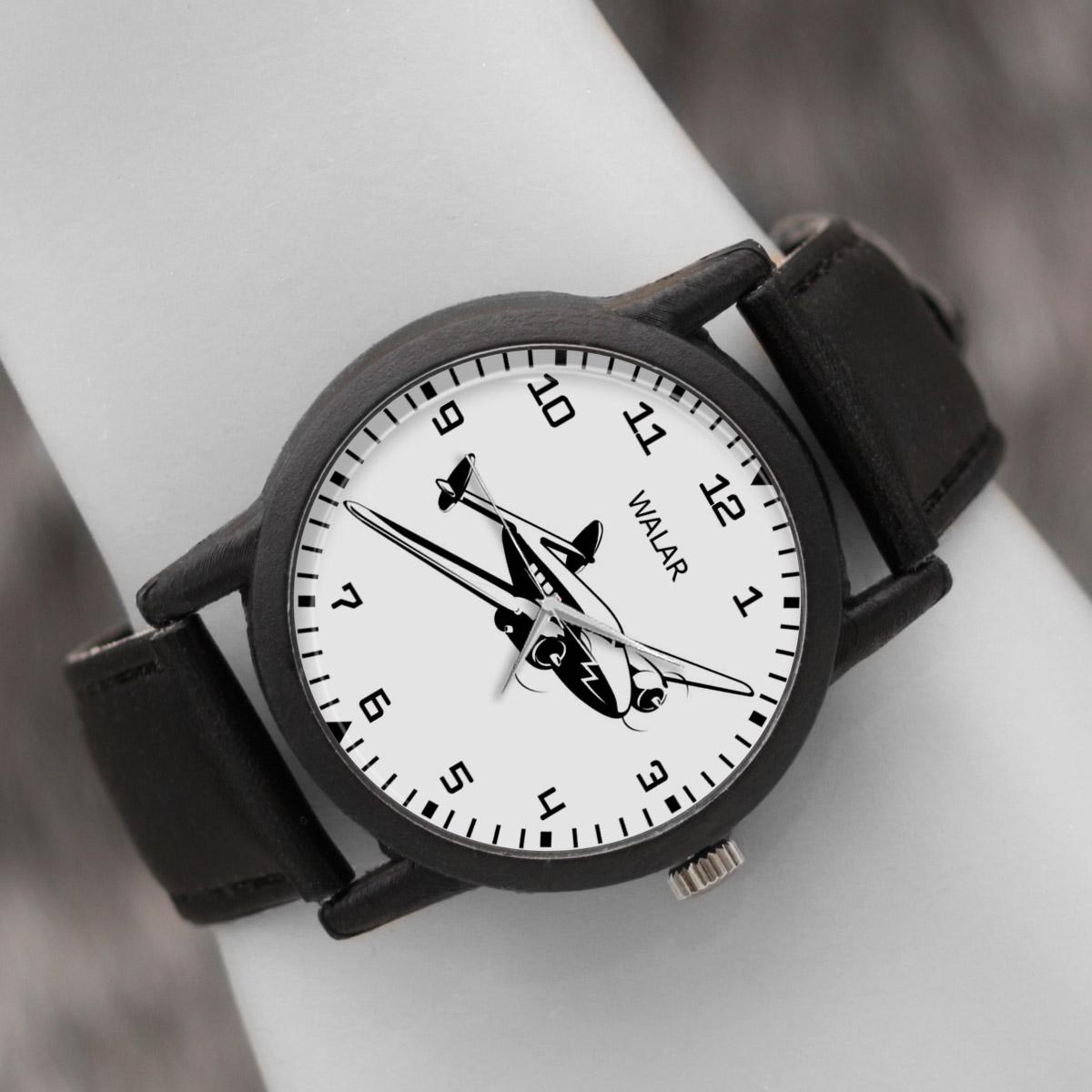 کد تخفیف                                      ساعت مچی عقربه ای والار طرح هواپیما کد LF2562