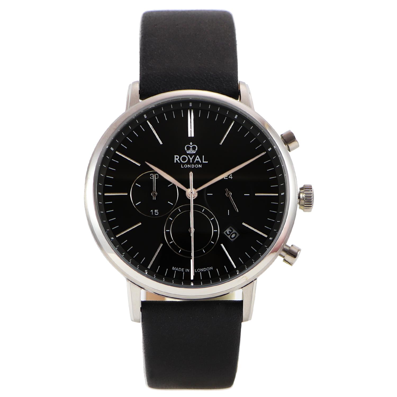 کد تخفیف                                      ساعت مچی عقربه ای مردانه رویال لندن مدل RL-41456-02