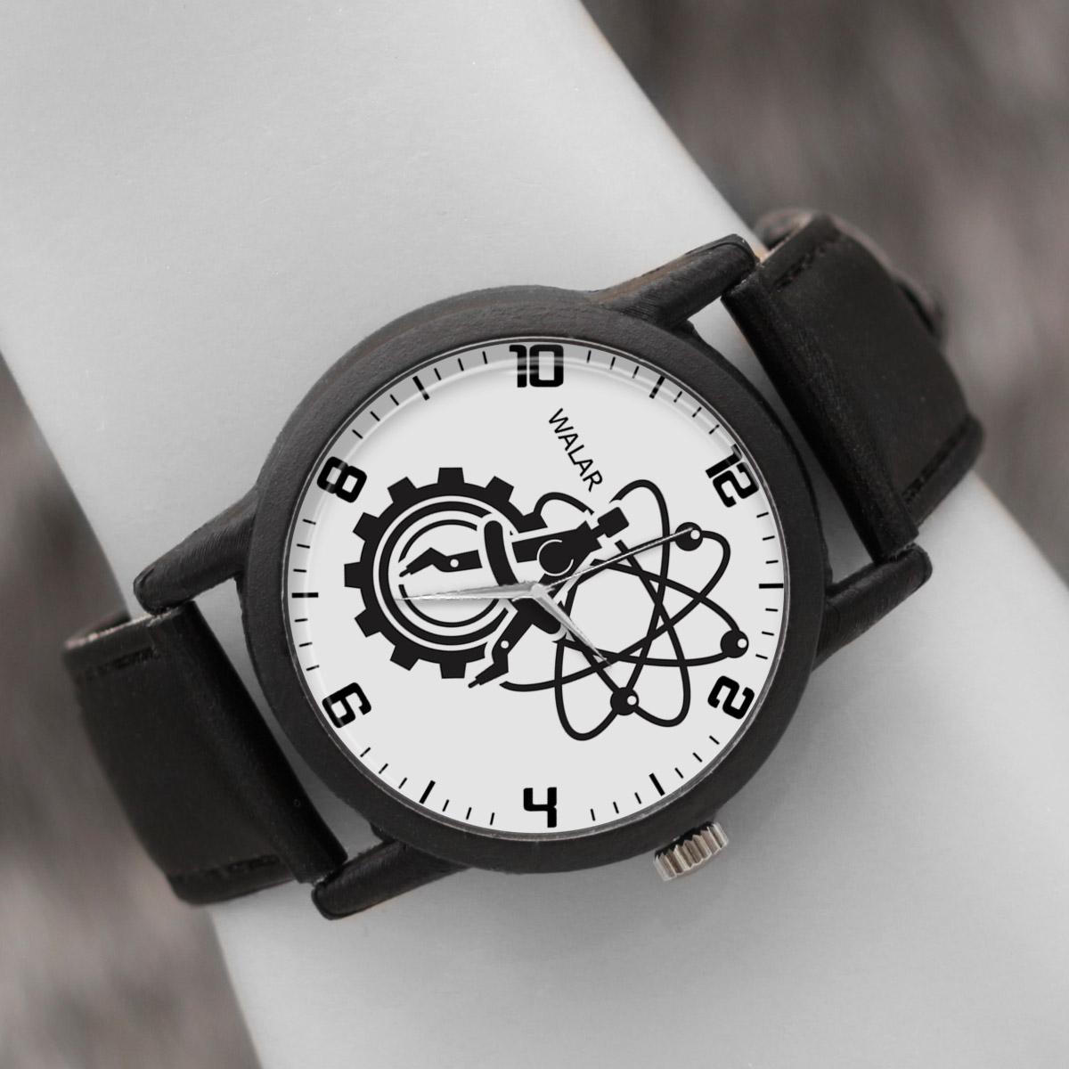 ساعت مچی عقربه ای والار طرح مهندسی مکانیک کد LF2584              ارزان