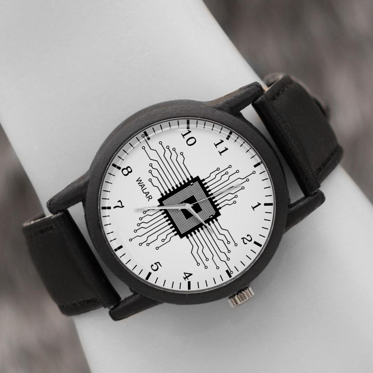 کد تخفیف                                      ساعت مچی عقربه ای والار طرح مدار الکتریکی کد LF2606