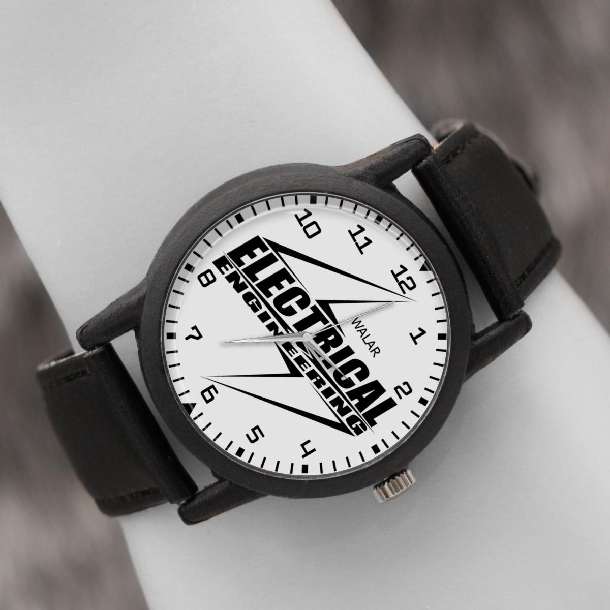 کد تخفیف                                      ساعت مچی عقربه ای والار طرح مهندسی برق کد LF2611
