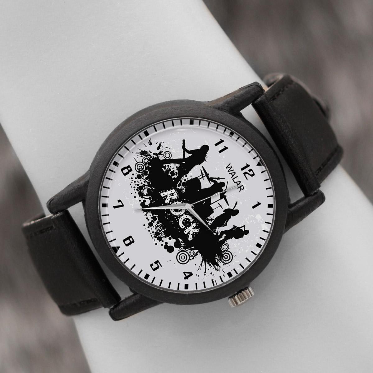 کد تخفیف                                      ساعت مچی عقربه ای والار طرح موسیقی کد LF2660