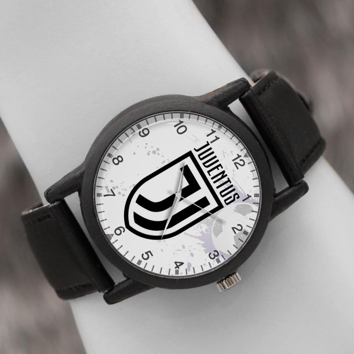 کد تخفیف                                      ساعت مچی عقربه ای والار طرح یوونتوس کد LF2714