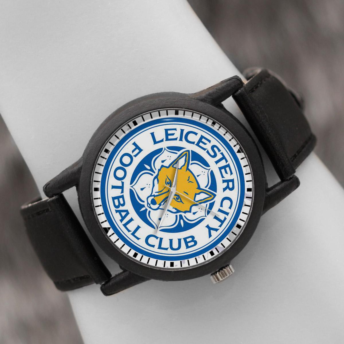 کد تخفیف                                      ساعت مچی عقربه ای والار طرح لستر سیتی کد LF2715