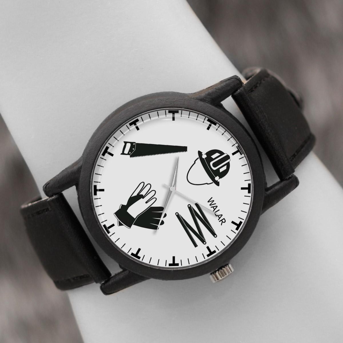 کد تخفیف                                      ساعت مچی عقربه ای والار طرح نجار کد LF2815