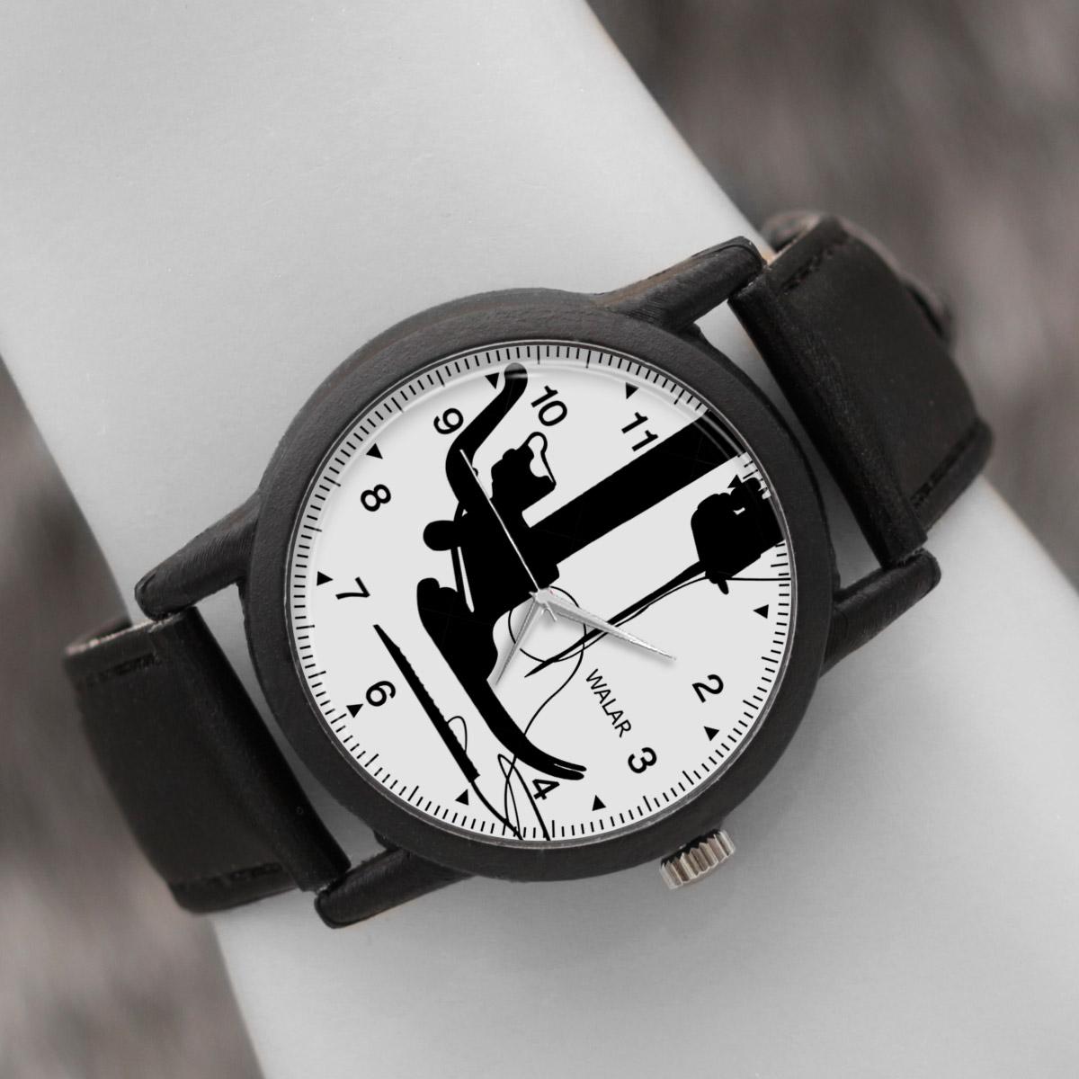 کد تخفیف                                      ساعت مچی عقربه ای والار طرح خیاط کد LF2851