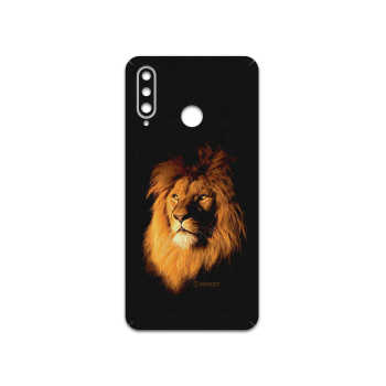 برچسب پوششی ماهوت مدل Lion مناسب برای گوشی موبایل هوآوی P30 Lite