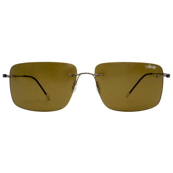 عینک آفتابی مردانه سیلوئت مدل 8663G