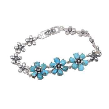 دستبند نقره زنانه کد DZ118