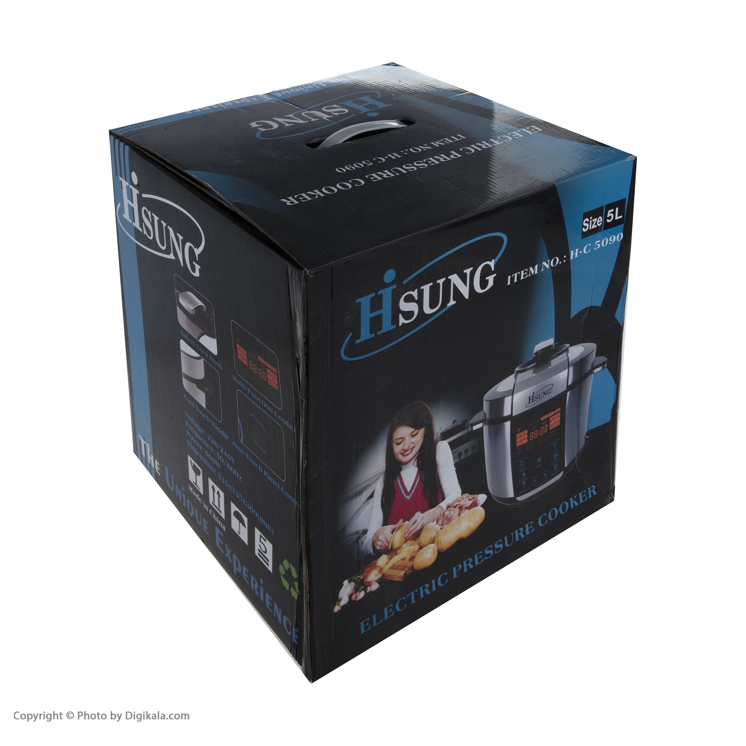 زود پز برقی هایسونگ مدل 5090  main 1 7