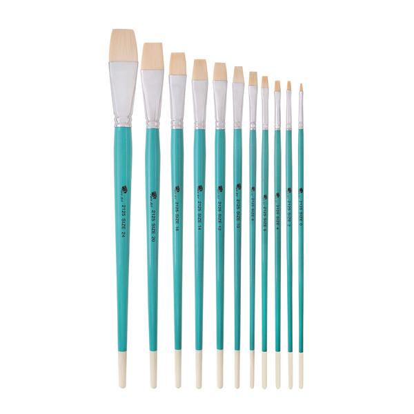 قلم مو تخت پارس آرت کد 2125 مجموعه 11 عددی