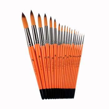قلم مو تخت پارس آرت کد 2122 مجموعه 18 عددی
