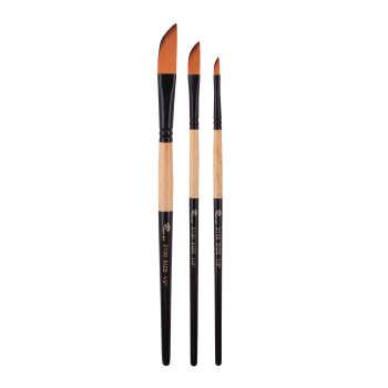 قلم مو شمشیری پارس آرت کد 2130 مجموعه 3 عددی