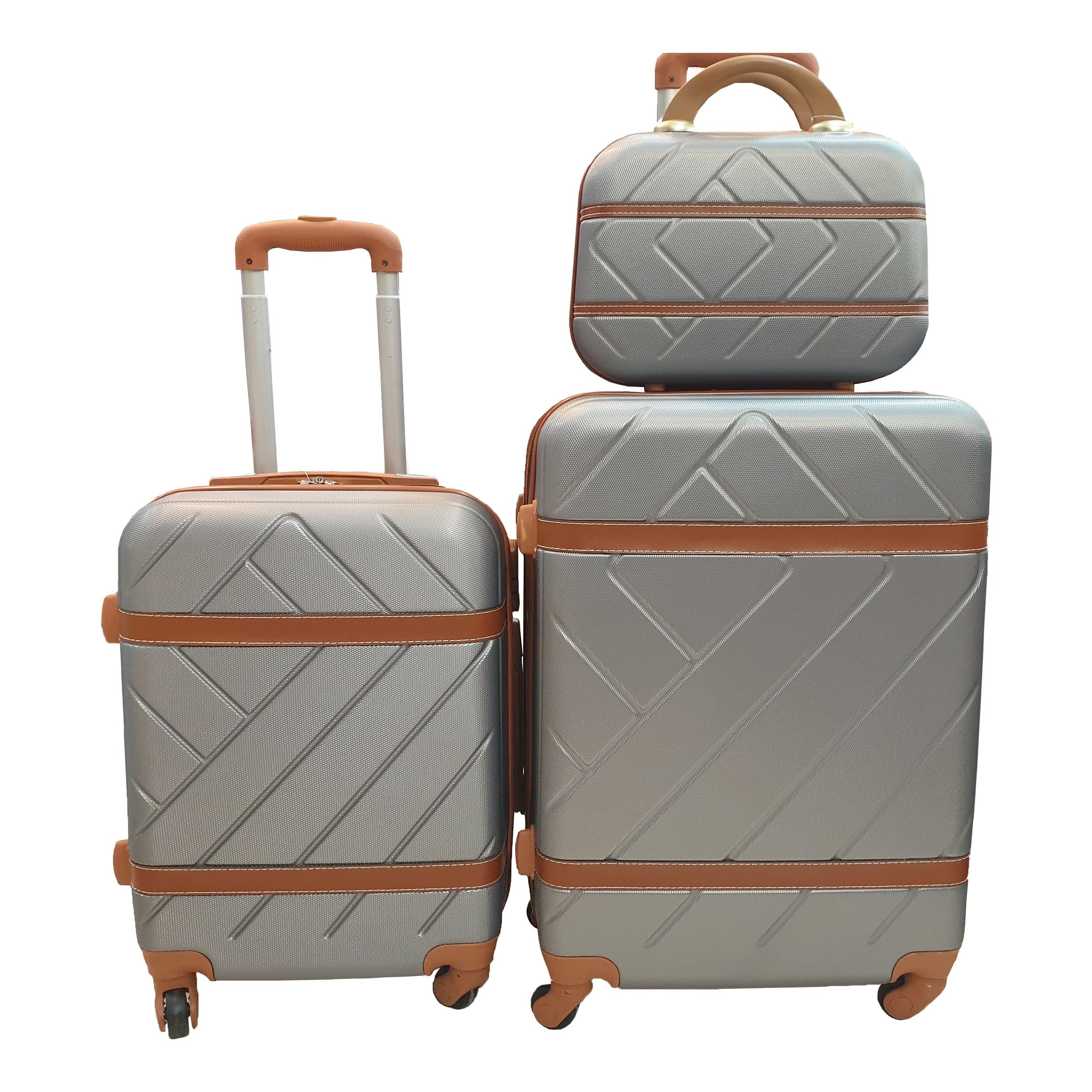 مجموعه سه عددی چمدان کد B007