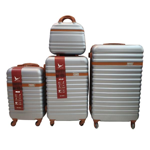 مجموعه چهار عددی چمدان اسکای برد کد B008