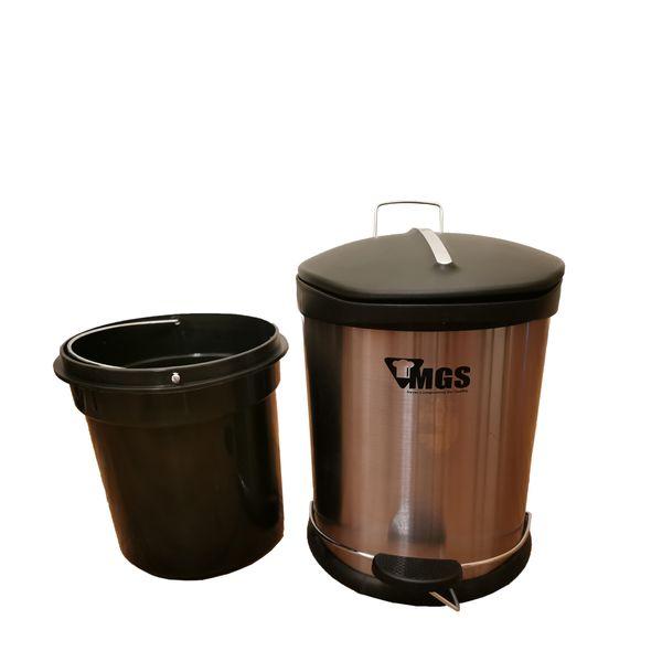 سطل زباله پدالی ام جی اس مدلS012 گنجایش 12لیتر