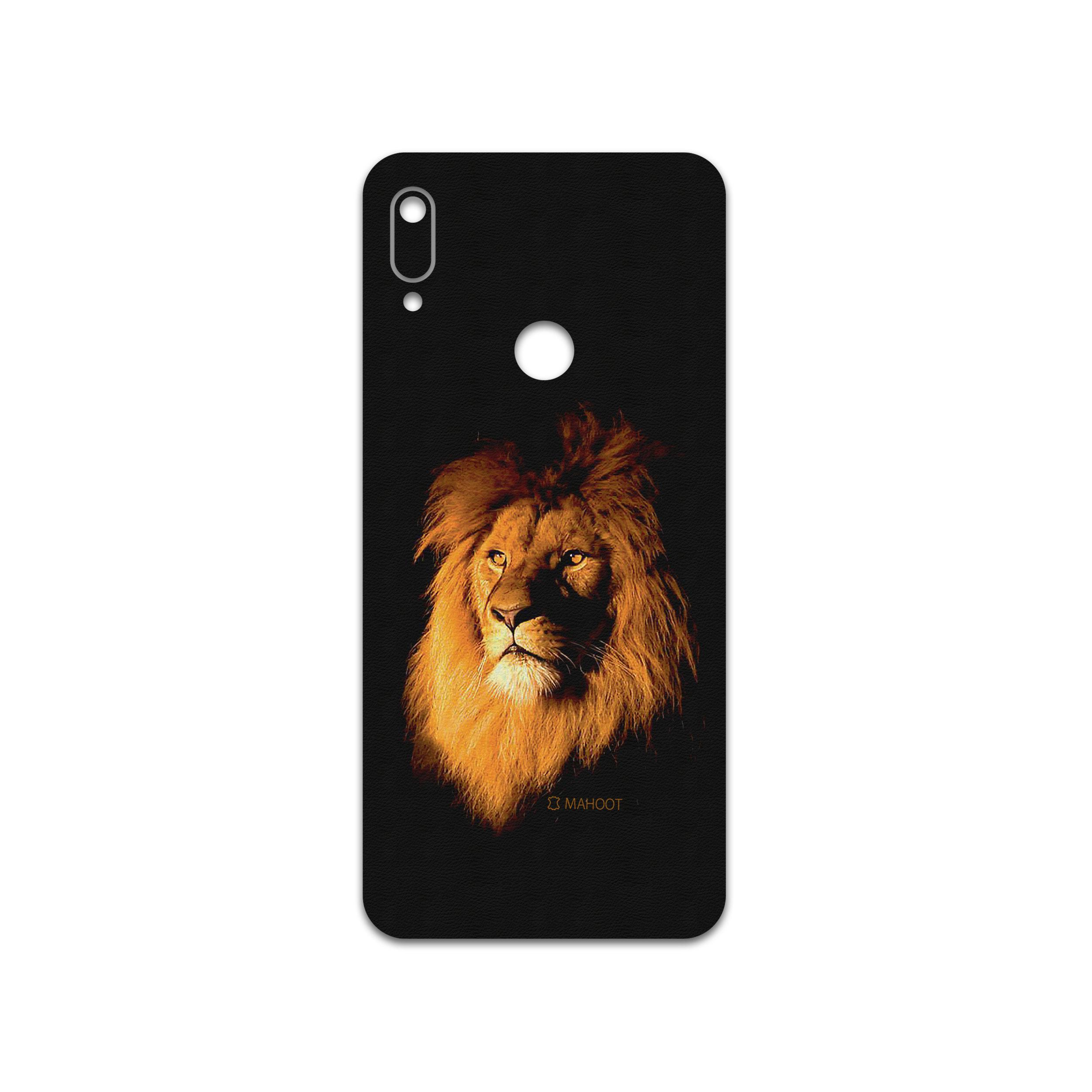 برچسب پوششی ماهوت مدل Lion مناسب برای گوشی موبایل هوآوی Y6 Prime 2019
