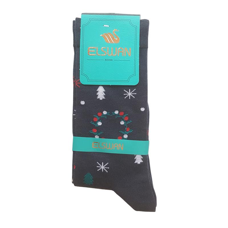 جوراب زنانه ال سون طرح گوزن کد PH274
