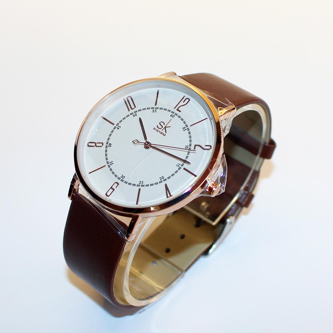 کد تخفیف                                      ساعت مچی عقربه ای مردانه اس کا مدل K8056 BR