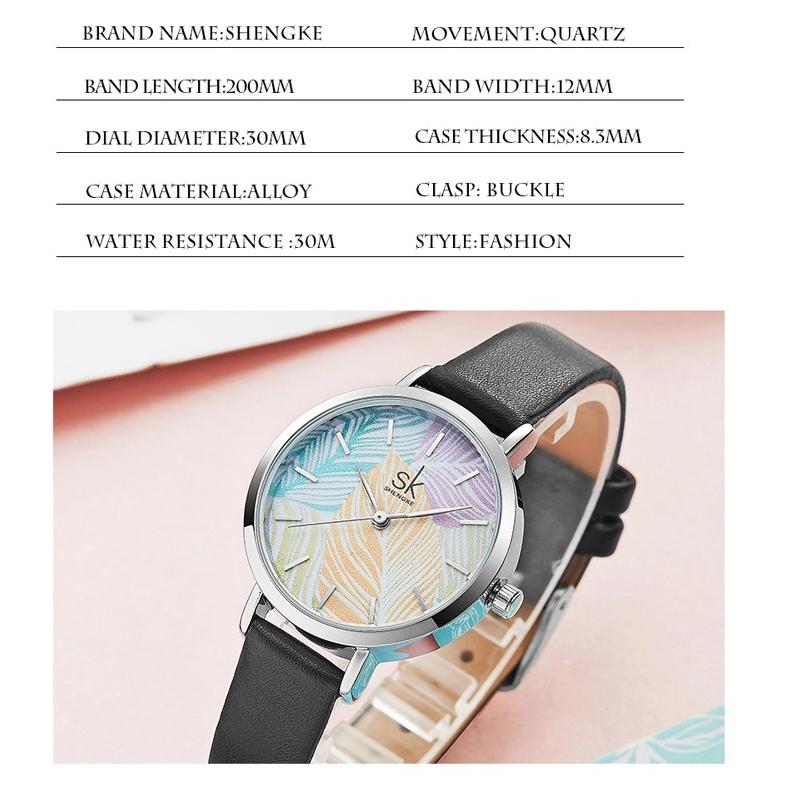 ساعت  زنانه اس کا مدل K8057 BLC