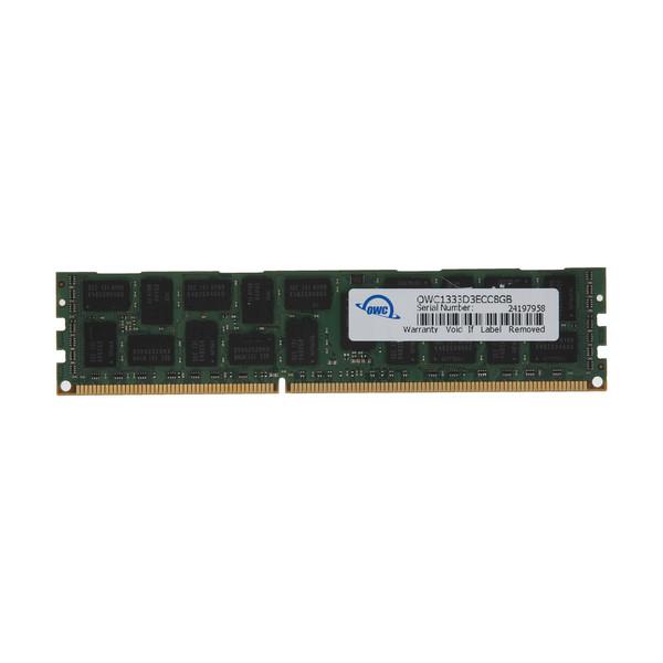 رم سرور DDR3 دو کاناله 1333 مگاهرتز CL9 اُ دبلیو سی مدل PC10600 ECC ظرفیت 8 گیگابایت