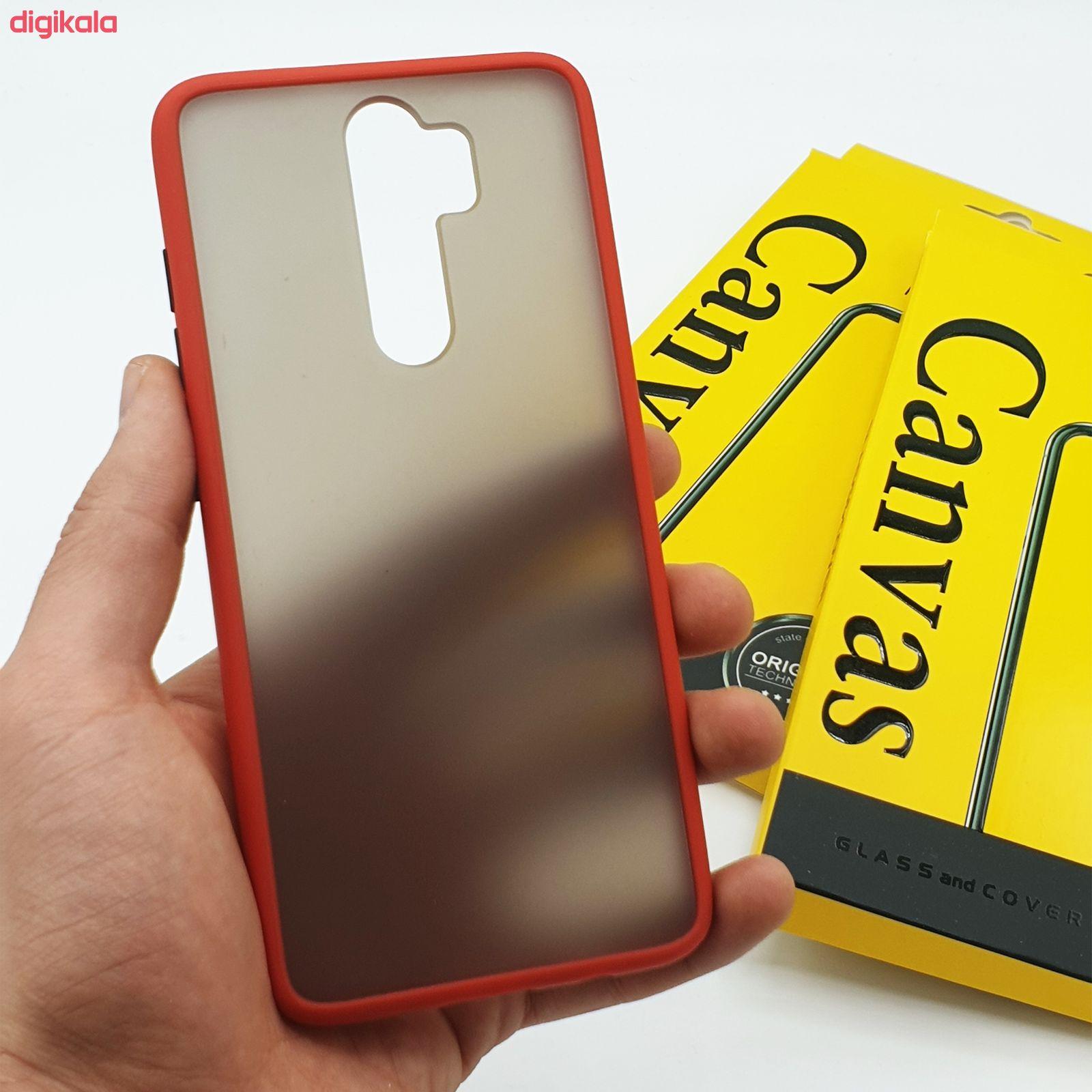 کاور کانواس مدل BMH-01 مناسب برای گوشی موبایل شیائومی Redmi Note 8 Pro
