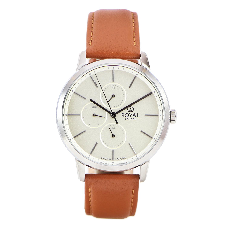 کد تخفیف                                      ساعت مچی عقربه ای مردانه رویال لندن مدل RL-41457-01