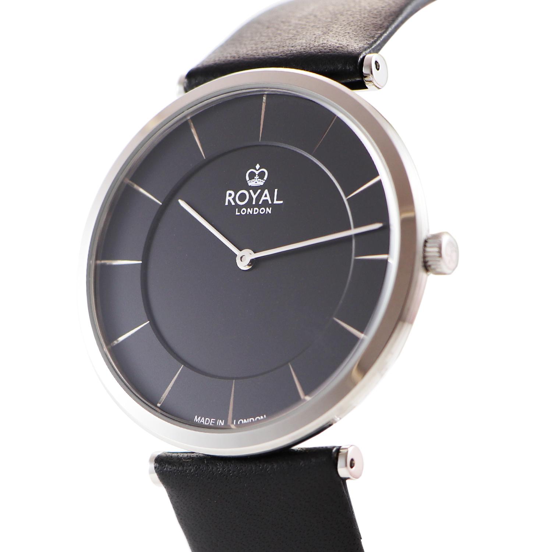کد تخفیف                                      ساعت مچی عقربه ای مردانه رویال لندن مدل RL-41459-01