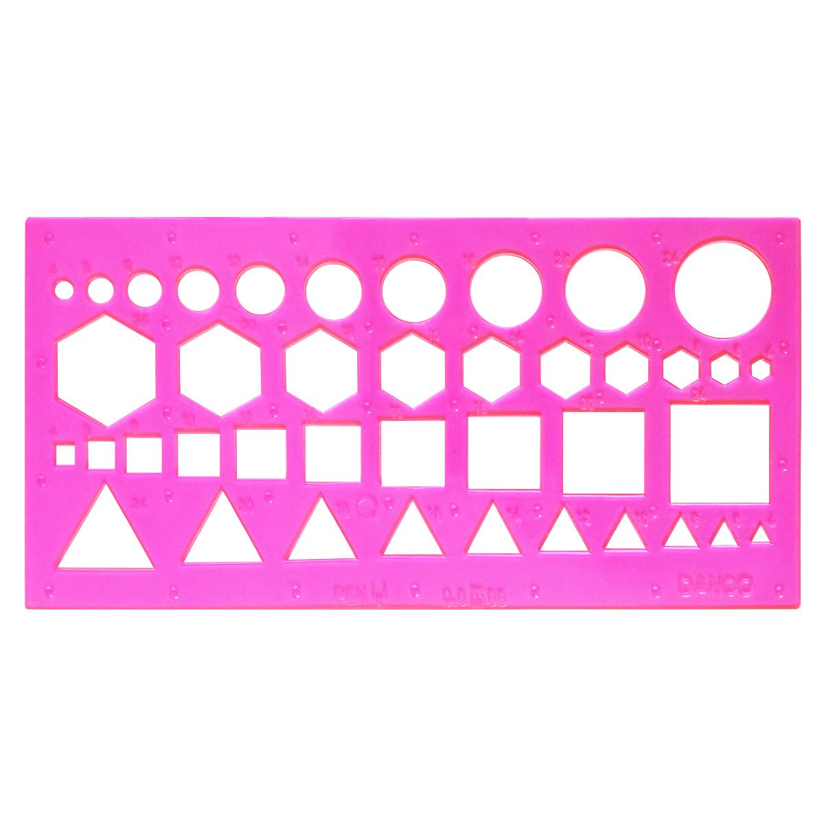 شابلون دانکو طرح اشکال هندسی کد GS1