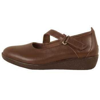 کفش روزمره زنانه پارینه چرم مدل SHOW6-7